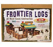 300-Piece Frontier Logs - T124404