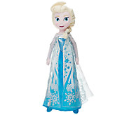 Disneys Frozen 24 Singing Plush Elsa Doll - T33204