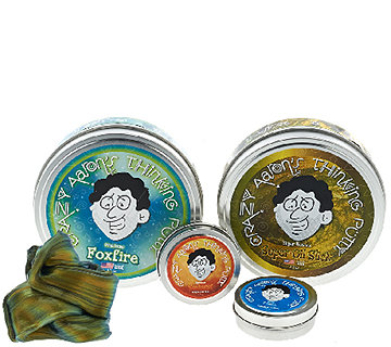 "Crazy Aaron's Thinking Putty w/ Two 4"" Tins & Two 2"" Tins - T33604"