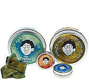 Crazy Aarons Thinking Putty w/ Two 4 Tins & Two 2 Tins - T33604