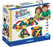 Guidecraft Better Builders - 60 Piece Set - T127905