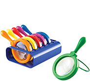 Set of 6 Jumbo Magnifiers by LearningResources - T126106