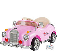 Lil Rider Battery Powered Pink Classic Coupe Ride On Car - T128309