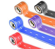 PlayTape Reusable Assorted Colored Roads Set - T127711