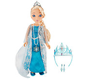 Disneys Frozen Princess & Me Elsa 19 Doll w/ Accessories - T33111