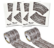 PlayTape Reusable Mud Madness Dirt Road and Curves Set - T127713