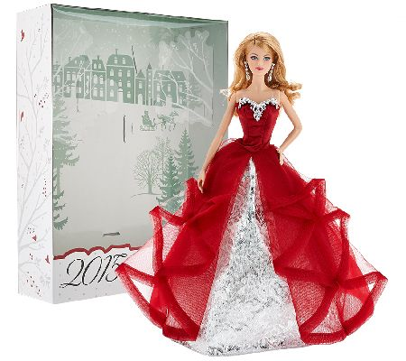 2015 Holiday Keepsake Barbie Doll By: Mattel