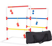 Hey! Play! Ladder Toss Outdoor Game Set with Carrying Case - T128017