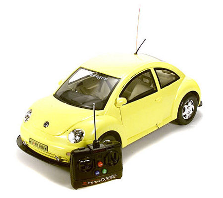 Purple Vw Beetle Radio Control Car 1 6 Scale Qvc Com