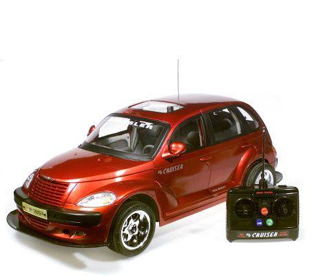 pt cruiser radio control car 1 6 scale w 9 6v battery. Black Bedroom Furniture Sets. Home Design Ideas