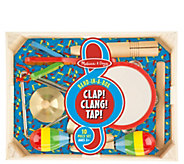 Melissa & Doug Band-in-a-Box Clap! Clang! Tap! - T127719
