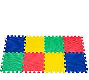 32-Piece Trademark Multicolored Foam Mat - T127321