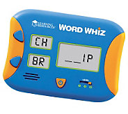 Word Whiz Electronic Flash Card by Learning Resources - T125723