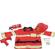 Melissa & Doug Fire Chief Role Play Costume Set - T127523