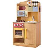 Teamson Kids Little Chef Burlywood Kitchen withAccessories - T128023