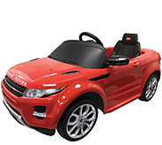 Best Ride-On Cars Range Rover Evoque - Red - T128325