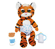 As Is Animal Babies 14 Tumbling Plush w/ Sounds - T137126