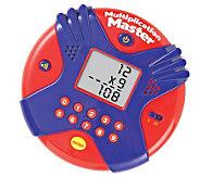 Multiplication Master Electronic Flash Card - T125727