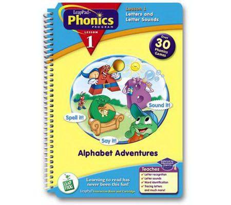 Leapfrog Leappad Phonics Book 1 Alphabet Adventures