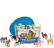 Learning Resources Set of 60 Farm Animal Counters - T128129
