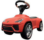 Best Ride-On Cars Lamborghini Urus Push Car - Red - T128329