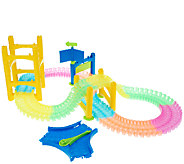 As Is Twister Trax 6ft Glow Track & Accessory Set - T137130