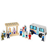 Melissa & Doug Off to Work Bus Set - T127831