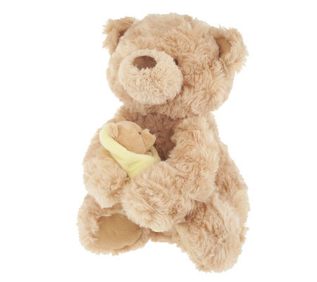 Rock-a-Bye Momma Bear with Baby Animated Plush by Gund