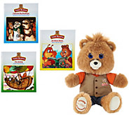 Teddy Ruxpin Animated Storytelling Bear with 3 Books - T35331
