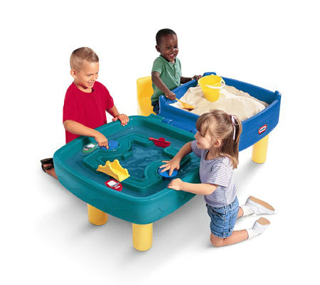 Little Tikes Easy Store Sand And Water Table T104032
