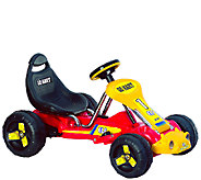 Lil Rider Red Racer Battery Powered Go-Kart - T127333