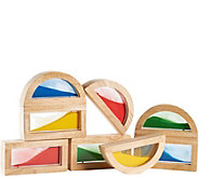 Guidecraft Sand Rainbow Blocks - T127933