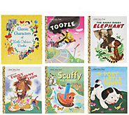 Classic Characters of Little Golden Books Boxed Set - T34233