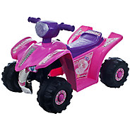 Lil Rider Pink Princess Mini Quad Ride-On FourWheeler - T127335