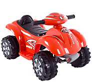 Lil Rider Battery Powered Red Raptor Four Wheeler - T127337