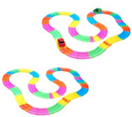 Twister Trax S/2 Glow in the Dark Set w/ 360 Light-Up