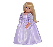 Doll/Plush Deluxe Rapunzel Dress by Little Adventures - T123238