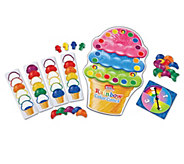 Smart Snacks Rainbow Color Cones Game by Learning Resources - T125739