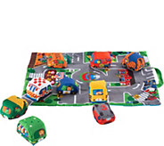 Melissa & Doug Take-Along Town Play Mat - T127839