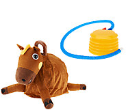 As Is Hopper Ball 15 Plush Bouncing Ride-On Ball - T137139