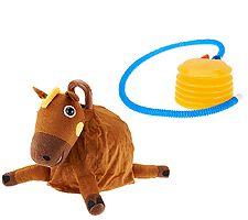 "Hopper Ball 15"" Plush Bouncing Ride-on Ball"