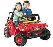 Red 12 V Rollin Rambler Ride-On - T126040