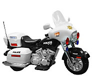 Police 12V Motorcycle - T123541