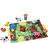 Melissa & Doug Take-Along Farm Play Mat - T127841