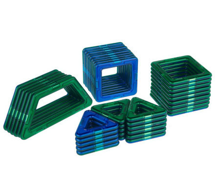 Magformers 40-piece 3-D Magnetic Building Set w/ Instructions