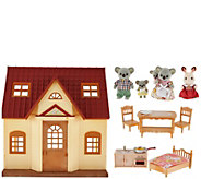 Calico Critters Cozy Cottage Starter Home With Koala Family - T34442