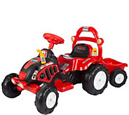Lil Rider The King Tractor & Trailer Ride-On - T127343