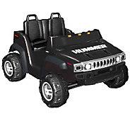 Hummer H2 in Black (12V) - T126044