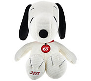 As Is 65th Anniversary Commemorative 15 Snoopy Plush - T137146