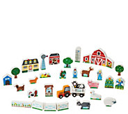 Melissa & Doug Wooden Farm & Tractor Play Set - T127747